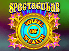 Игровой автомат Spectacular Wheel Of Wealth на сайте Вулкан